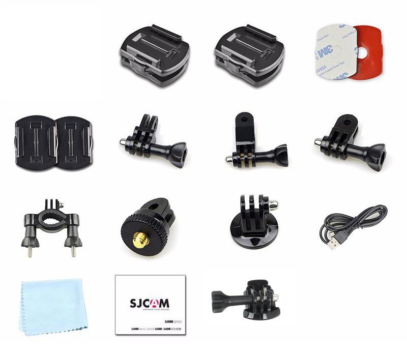 Fixations et accessoires de la caméra SJCAM SJ360