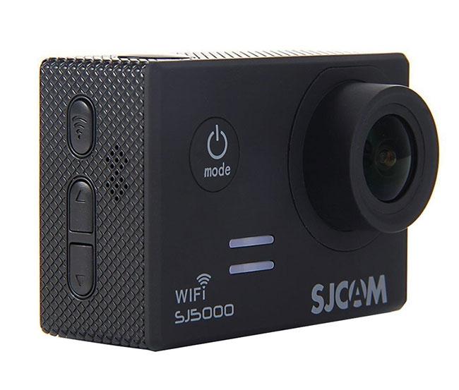 Caméra embarquée SJCAM SJ5000 WiFi - vue de biais