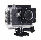Caméra embarquée SJCAM SJ5000 WiFi dans son caisson étanche - vue de biais