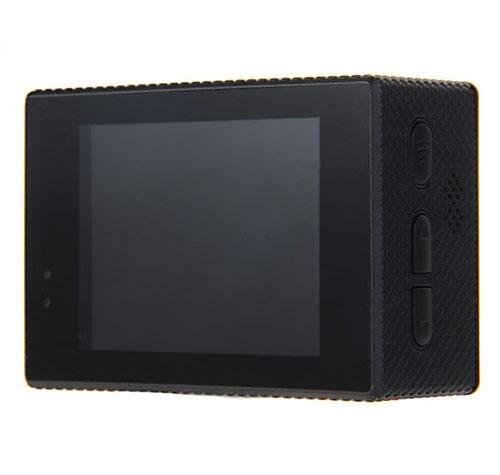 """Caméra SJCAM SJ5000 WiFi avec écran intégré LCD 2"""" - vue de dos"""