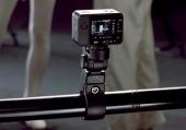 Caméra Sony RX0 montée sur un tube