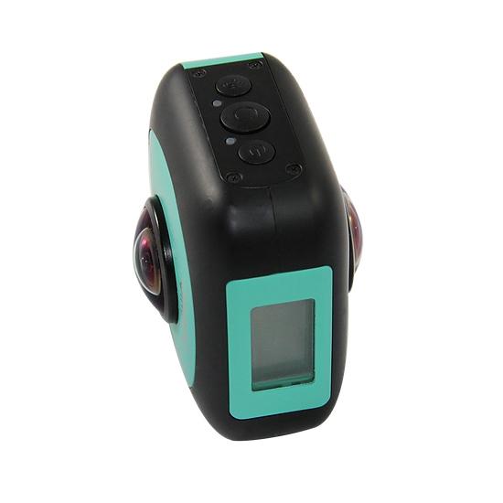 """Un écran LCD 0,96"""" est présent sur la caméra VR360 de QimmiQ"""