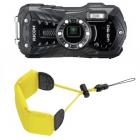 Caméra WG-50 Ricoh + dragonne flottante