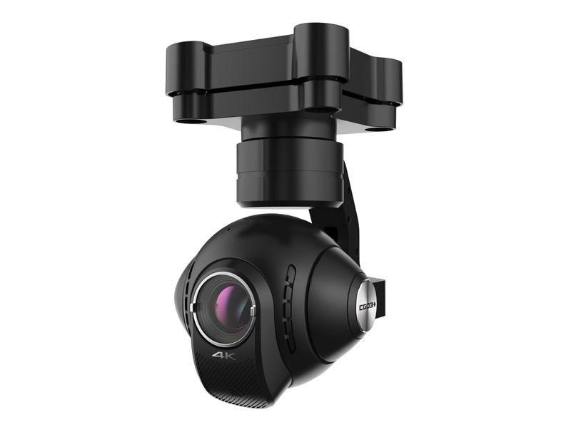 La caméra Yuneec CGO3+ est capable de filmer en 4K à 360°