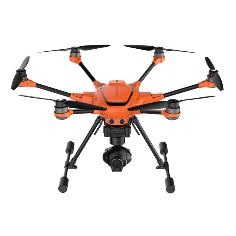 La caméra E50 offre 28 minutes d'autonomie au H520.