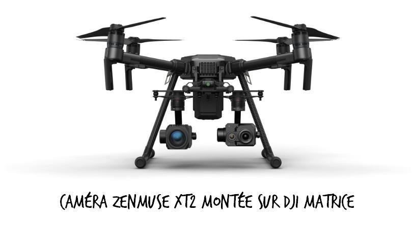 Caméra Zenmuse XT2