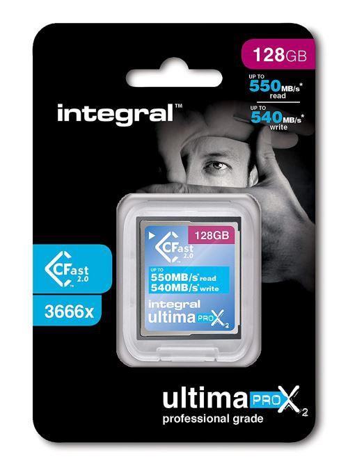 Carte CFast 2.0 UltimaPro X2 128Go - Integral