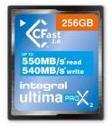 Carte CFast 2.0 UltimaPro X2 256Go - Integral