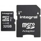 Carte micro SDHC/XC UltimaPro U1 UHS-1 32Go - Integral