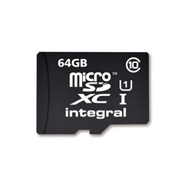 Carte microSD 64 Go classe 10 - Integral