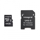 Carte microSDHC/XC UltimaPro 64Go UHS-II V90