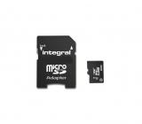Carte microSDXC 64Go 4K Premium UHS-I U3 - Integral