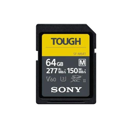 Carte SD série M Tough 64Go UHS-II V60 U3 - Sony