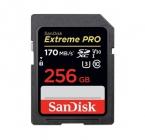 Carte SDXC Extreme PRO 256 Go UHS-I - Sandisk