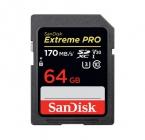Carte SDXC Extreme PRO 64 Go UHS-I - Sandisk
