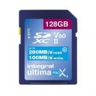 Carte SDXC Ultimapro X2 128 Go UHS-II V60 - Integral