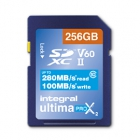 Carte SDXC Ultimapro X2 256 Go UHS-II V60 - Integral