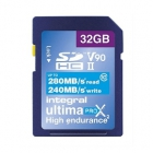Carte SDXC Ultimapro X2 32 Go UHS-II V90 - Integral