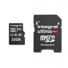 Cartes microSDHC/XC UltimaPro U3 - Integral