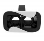 Casque de réalité virtuelle VRPOD - vue de derrière à travers les verres