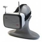 Casque FPV Immersion Go SKyRC - installé sur un mannequin