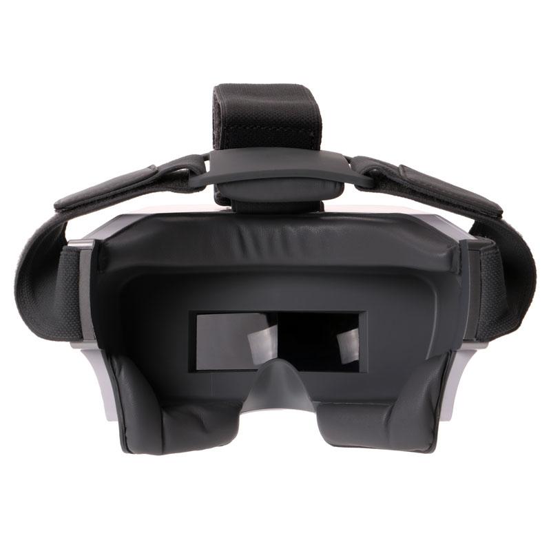 Le casque FPV Yuneec Skyview est très confortable à porter grâce aux mousses qui encadrent le contour des yeux