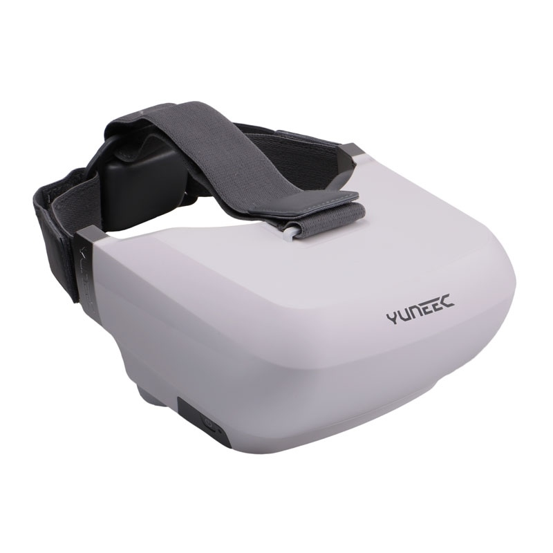 Le casque FPV Yuneec Skyview dispose de sangles réglables facilitant son ajustement