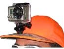 Casquette Hatcam avec fixation GoPro