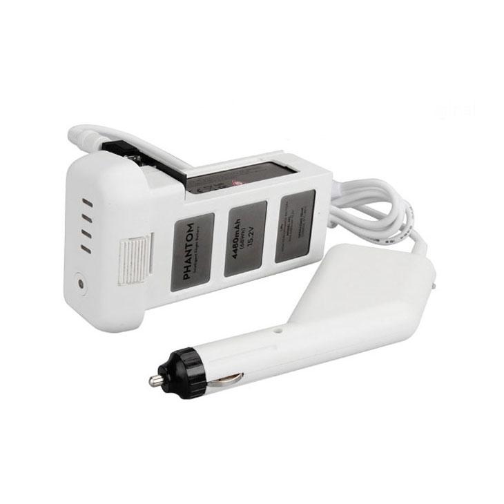 Charge d'une batterie Phantom 3 en cours