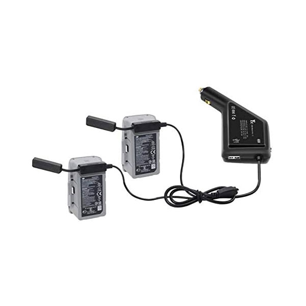 Chargeur allume-cigare multiple pour DJI Mavic Air 2