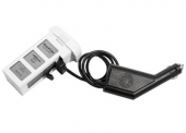 Chargeur allume-cigare connecté à la batterie DJI Phantom 3