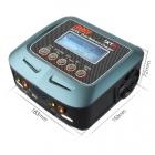 Ce chargeur D100 tient dans un faible volume. Il sera très facile à transporter ou à stocker.