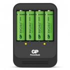 Chargeur de piles compact GP