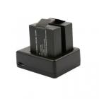 Chargeur double SJCAM avec 2 batteries installées