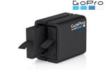 Chargeur double et batterie GoPro Hero4
