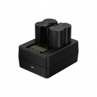 Chargeur double Fujifilm BC-W235