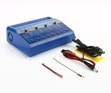 Chargeur LiPos 2S-3S 4x9W - Blade avec connectiques