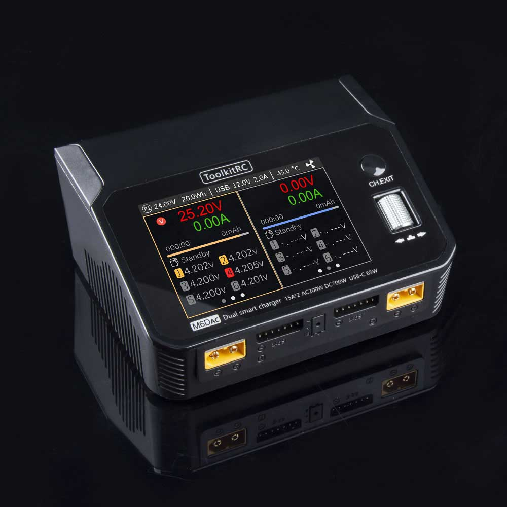 Chargeur M6DAC - ToolkitRC