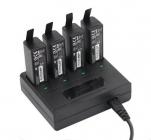Chargeur multiple pour DJI Osmo avec 4 batteries en recharge