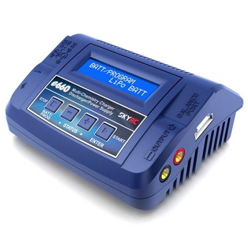 Chargeur SkyRC E660 60W + Câble DJI Mavic