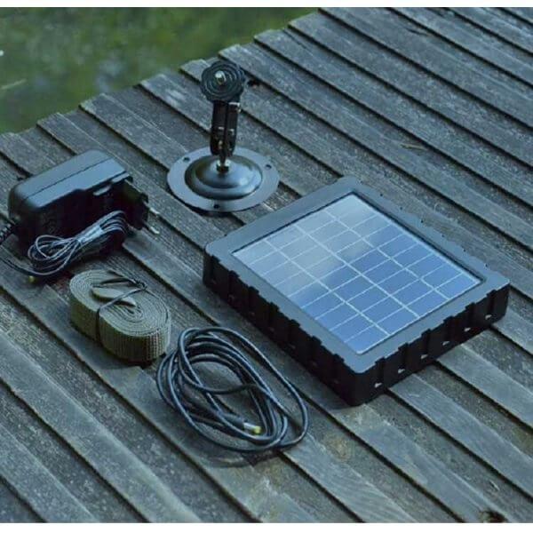 Chargeur solaire pour piège photographique