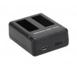 Chargeur STS pour batteries GoPro Hero5 et 6 - vue de côté