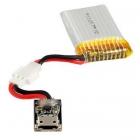 Chargeur USB (500mA) + batterie LiPo 240mAh