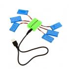 Chargeur compatible avec les batteries 1S Hubsan X4 H107L, H107C et H107D