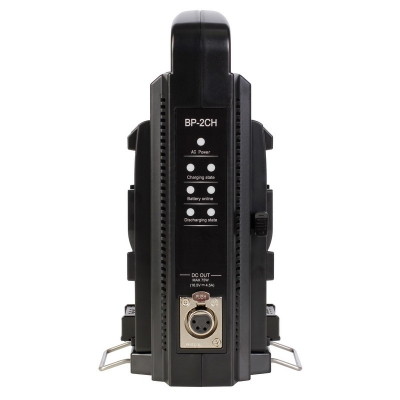 Chargeur vidéo pour 2 batteries V-Mount