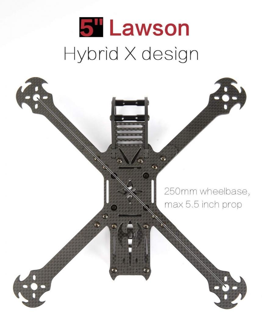 Châssis iFlight 5\'\' Lawson FPV Battle Axe Freestyle