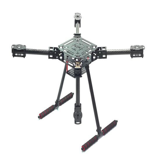 Châssis Quadcoptère ZD550 vue de trois quart
