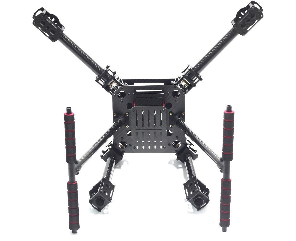 Châssis Quadcoptère ZD680 vue de dessous