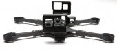 Châssis Shendrones Palindrone détail du support caméra