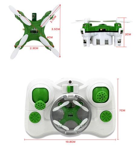 Un drone très léger et compact pour des vols en intérieur fun et rigolo